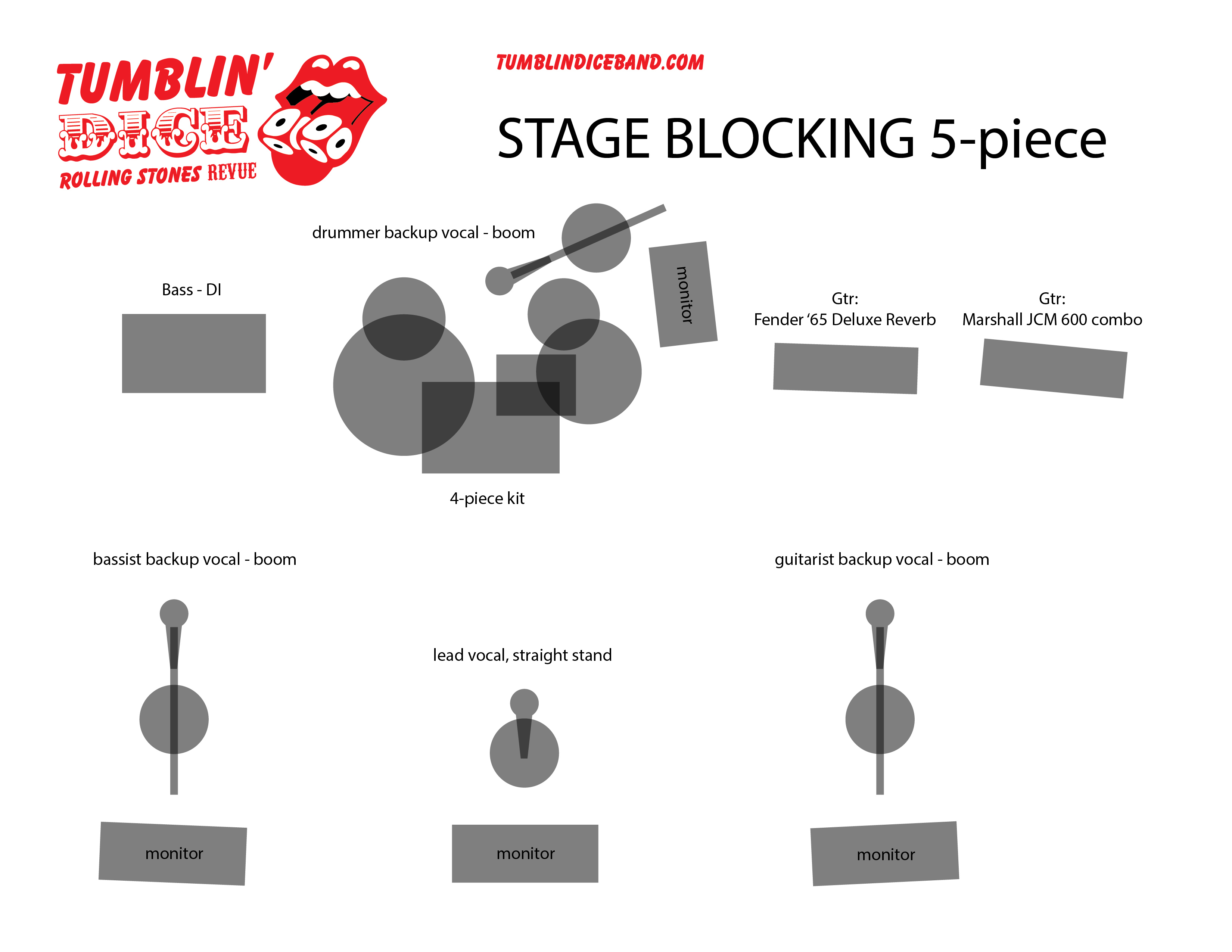options stage blocking tumblin dice